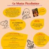 20-21 GENNAIO 2018 - LA MUSICA PICCOLISSIMA con PAOLA ANSELMI