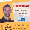 STRUMENTORFF - 23/24 Gennaio 2021 con Alberto Conrado